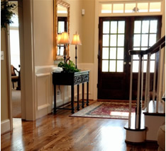 Entrance hall to beautiful home